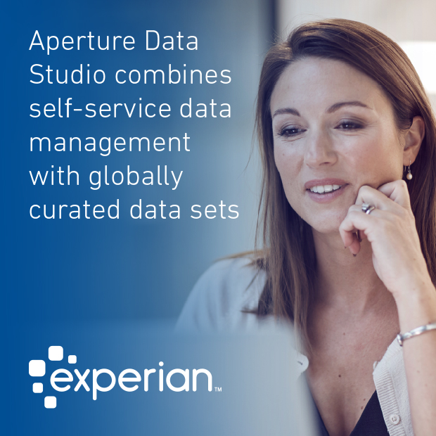 Aperture Data Studio combines self-service data management with globally curated data sets